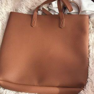 Bags - Cognac tote